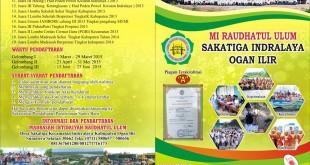 Brosur Madrasah Ibtidaiyah Raudhatul Ulum TP 2016-2017