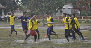SANTRI FC PPRU Sakatiga, Gelontorkan 3 Gol ke Sarang LABAS FC