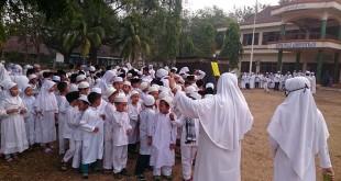 Pelatihan Manasik Haji Madrasah Ibtidaiyah Raudhatul Ulum